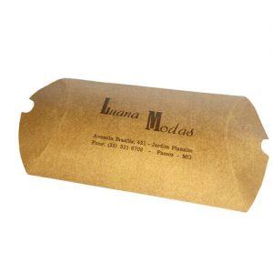 Caixa Travesseiro Personalizada – Pequena – MOD. 012A