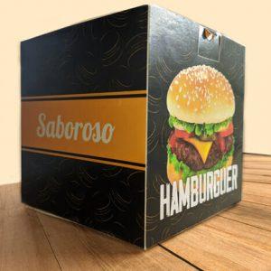 Caixa Hamburguer Personalizada – Triplex 300g – MOD. 004E