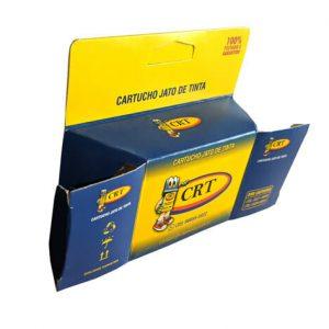 Caixa com suporte para gôndola personalizada – Pequena – MOD. 009C