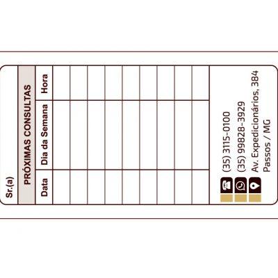 Cartão – MOD. 002