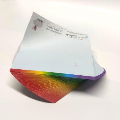 Bloco (300 folhas) personalizado com o seu logotipo